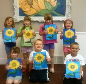 Art Camp Ages 5-7 July 2