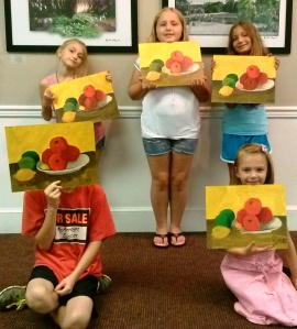 Art Campers Cezanne