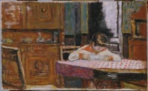 Pierre Bonnard Interior with Boy, 1910