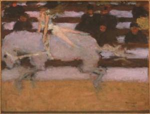 Pierre Bonnard Circus Rider, 1894
