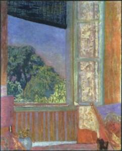 The Open Window Pierre Bonnard, 1921