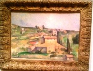 Paul Cezanne Fields at Bellevue, oil, 1892-95