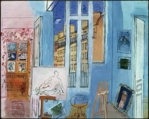 """The Artist's Studio"" Raoul Dufy, 1935"
