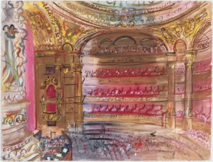 """The Opera, Paris"" Raoul Dufy, 1924"