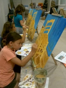 Art Camp Van Gogh Chair 1