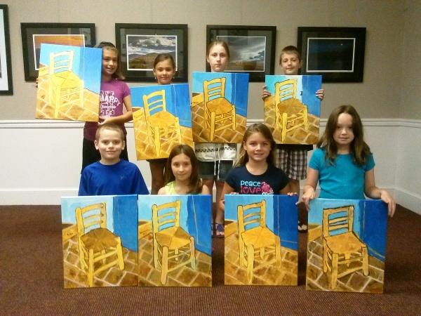 Art Camp Van Gogh Chair 3