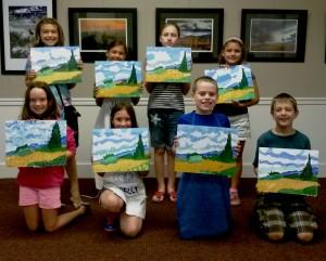 Art Campers Paint Van Gogh