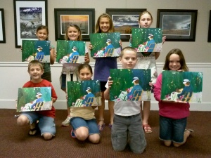 Art Campers Paint Cassett