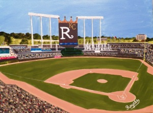 Kauffman Stadium Kansas City Royals