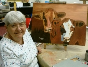 Pat Paints Cows