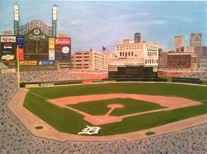 Comerica Park Detroit Tigers