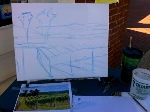 Step 1 -Sketch
