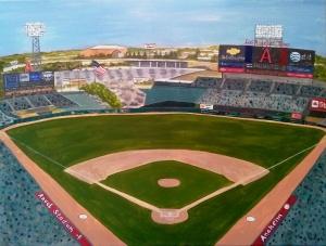 Angel Stadium of Anaheim Los Angeles Angels