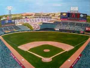 Angel Stadium of Anaheim Los Angeles Angels