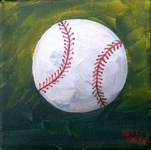 Baseball Green background small