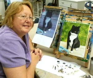 Cathy and Cat