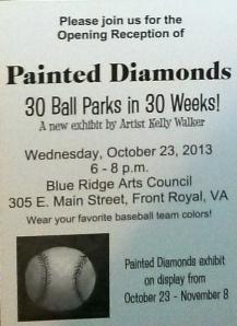 Painted Diamonds INvite back