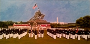 Marine Corps War Monument Complete