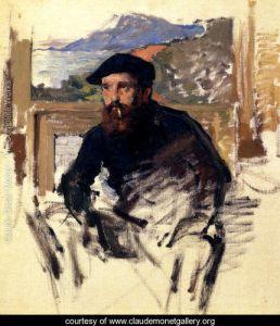 Self Portrait in His Atelier
