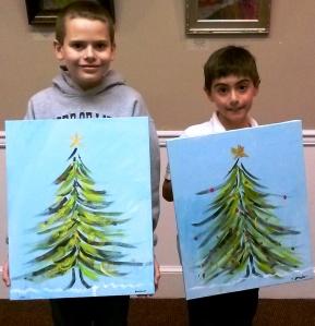 Kid class Christmas Tree