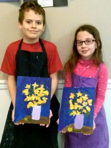 Ethan and Madeline's Daffodils