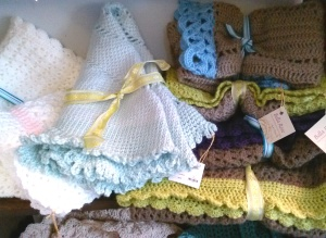 A Variety of Baby Blankets