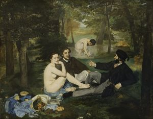 Luncheon on the Grass Edouard Manet