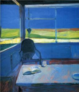 Diebenkorn's Interior with Book