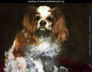 The Dog Edouard Manet