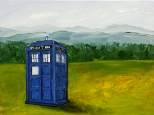 Tardis Lands in the Shenandoah Valley