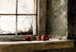 Andrew Wyeth, Frostbitten, 1962, watercolor on paper, Private Collection.