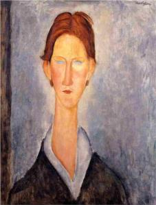Modigliani's Young Man