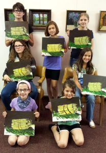 Art Camp Week 1 Manet's Asparagus