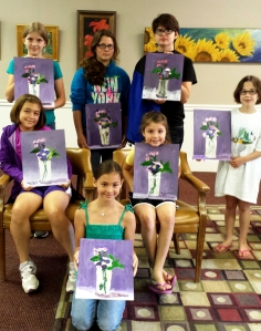 Art Camp Week 1 Painting 1 - Manet
