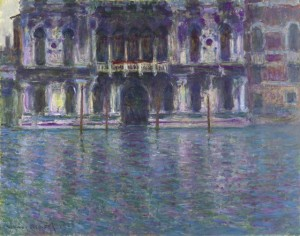 """Monet's """"Le Palais Contarini"""", 1908"""