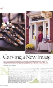 Delilah's featured in Virginia Living magazine