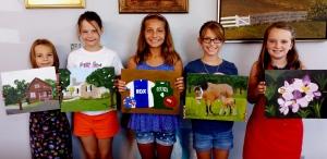 Art Campers Paintings