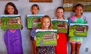 Art Campers Paint Entrance to National Park