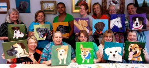 "July ""Paint Your Pet Portrait"" Party"