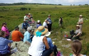 Participants in Big Meadows