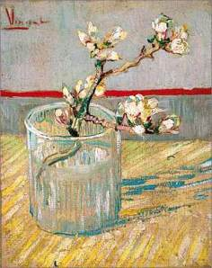 """Van Gogh's """"Sprig of Almond in a Glass"""""""