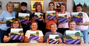 August Paint Party-Lavender