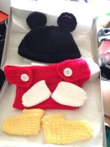 Crochet Mickey