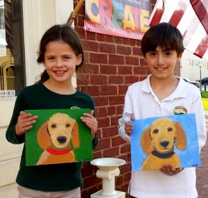 Kids Paint Pup