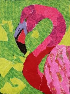 Paper Flamingo