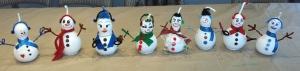 A Snowman Lineup!