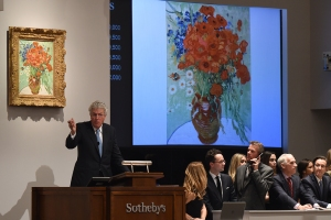 Sotheby's in New York More Information: http://artdaily.com/news/74110/China-film-mogul-Wang-Zhongjun-buys-van-Gogh-masterpiece-for--62-million--report#.VFuVI5RdVWJ[/url] Copyright © artdaily.org