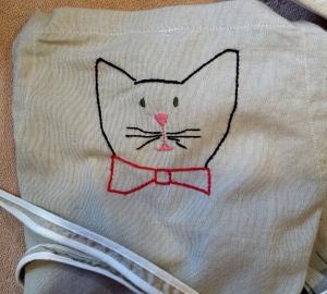 Apron Cat