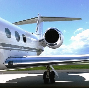 Original Reference Photo for Gulfstream Painting
