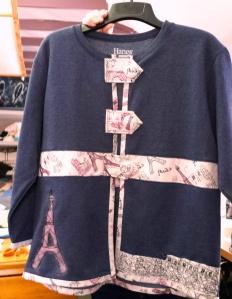 Sandra's Jacket with Parisian theme
